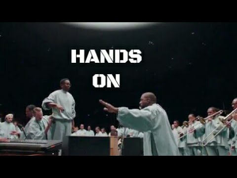 Kanye West - Hands On (Jesus is king) live