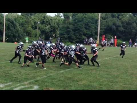 9 Year Old Football Star RB/QB/S Payton West #34- 2013 Season Highlights