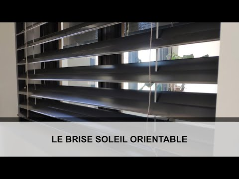 Brise soleil orientable BSO