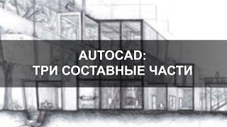 AutoCAD 2015: три составные части