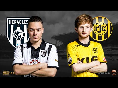 Bryan Hessing - Tom Heijnen | Heracles Almelo - Roda JC Kerkrade | Speelronde 22 | E-Divisie