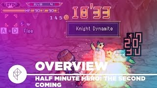 Half Minute Hero: The Second Coming - Gameplay Overview