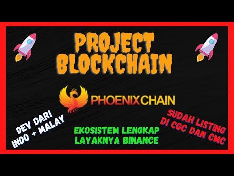 PROJECT BLOCKCHAIN DARI INDONESIA ! PHOENIX CHAIN ! MENARIK NIH !