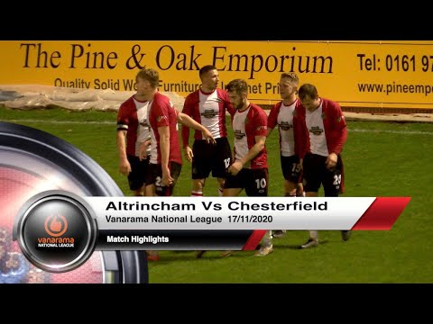 Altrincham Chesterfield Goals And Highlights