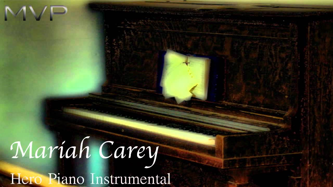 Hero mariah carey karaoke 【no guide melody】 instrumental youtube.