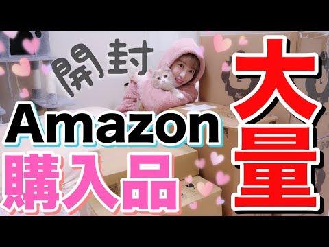 【開封】Amazonで大量に買い物した!!子猫たち大騒ぎwww【購入品紹介】