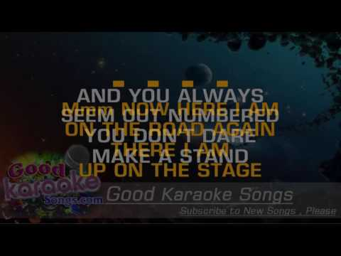 Turn The Page -  Bob Seger (Lyrics Karaoke) [ goodkaraokesongs.com ]