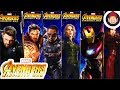 Avengers Infinity War Power FX Titan Hero Series Figures Iron Man Captain America Falcon Black Widow