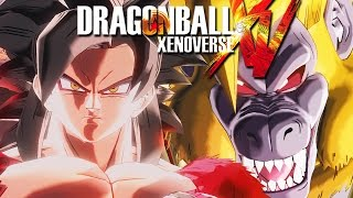 Dragon Ball Xenoverse DLC GT Gameplay Xbox One – Super Saiyan 4 Goku - Walkthrough Part 38