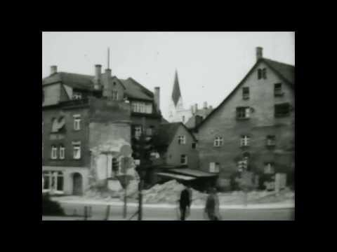 1968 Juni, Kempten Hausabruch