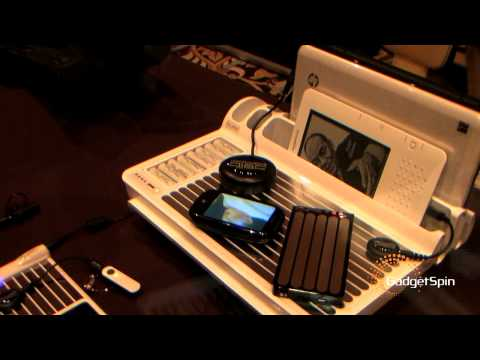 CES 2010:Wireless chargers from Pure Energy Solutions