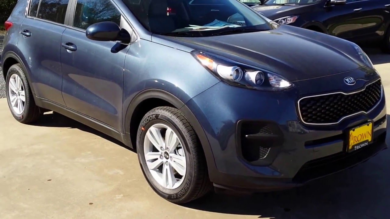 2017 Kia Sportage Lx Exterior Highlights Tyler Texas Crown