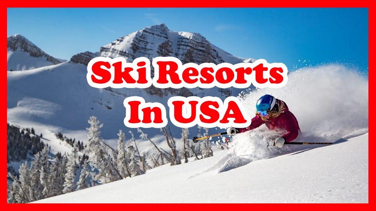 the 5 best ski resorts in usa | america skiing guide - youtube