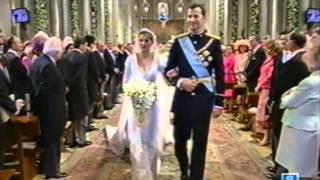 Boda Real entre Felipe y Letizia