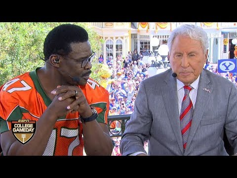 Lee Corso's pick for the Miami Hurricanes vs. the Florida Gators | College GameDay