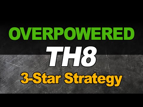 New OVERPOWERED TH8 War Strategy - Lightning+Quake  *Post Update*