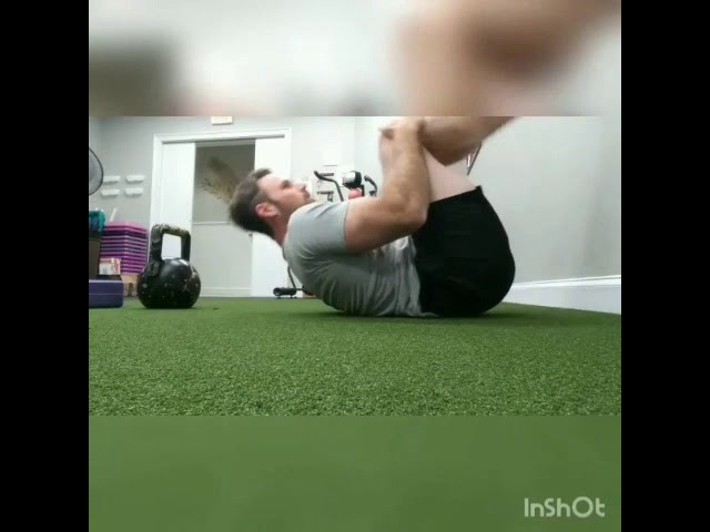 Reverse Crunch with progressions