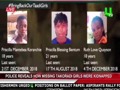 Police reveals how missing Takoradi girls were kidnapped