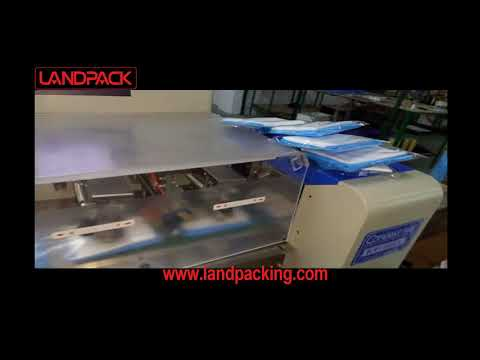 KT 350 non-woven packaging machine customized non-woven automatic packaging machinery -landpack