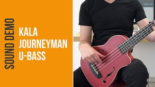Kala Journeyman U-Bass - Sound Demo (no talking)