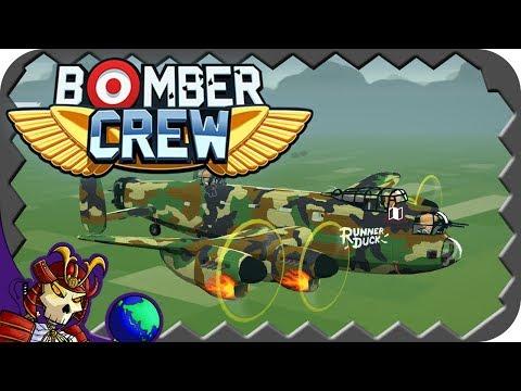 BOMBER CREW   WW2 FTL Strategic Simulator   Let's Play Bomber Crew Gameplay
