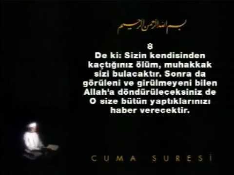 CUMA Suresi - KURAN.gen.tr