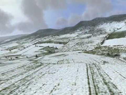 Il-2 Sturmovik - Slovakia winter map