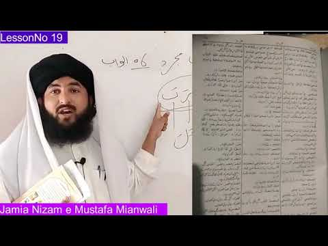 Arabic Word Talash karne ka tareeqa   Sarf e Bahai Lesson 19   Al Munjid Arabic Urdu Dictionary
