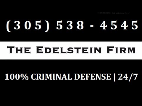 Thumbnail: Miami Criminal Lawyers - The Edelstein Firm - State & Federal Criminal Defense in Miami, FL