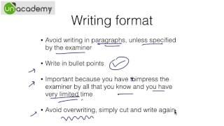IAS Preparation to Crack the UPSC Examinations : Part 7 - Writing Skills