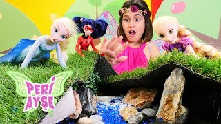 Peri Ayşe ve Elsa piknikte sihirli yüzük arıyorlar!