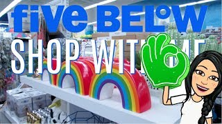 FIVE BELOW SHOP WITH ME | NEW $1 to $5 MAKEUP, ROOM DECOR & MORE!!!
