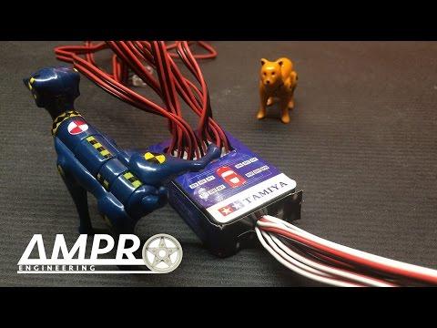 "E31: RC Car Lighting Kit Review, PART 3: ""Tamiya Hop Up Option"""
