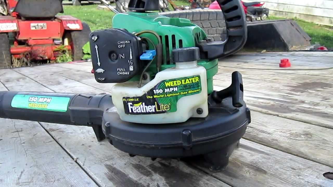 medium resolution of leaf blower fuel line repair