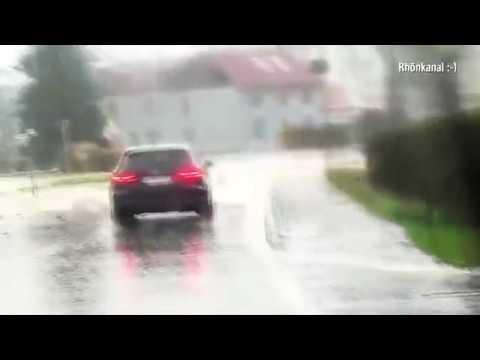 AUGENZEUGE schildert gefährliche Überflutungen Geisa 2018