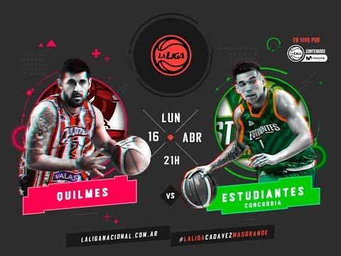 Liga Nacional: Quilmes vs. Estudiantes | #LaLigaEnTyCSports