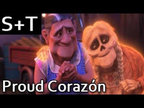 Coco  Proud Corazón  Hebrew Subs+Translation