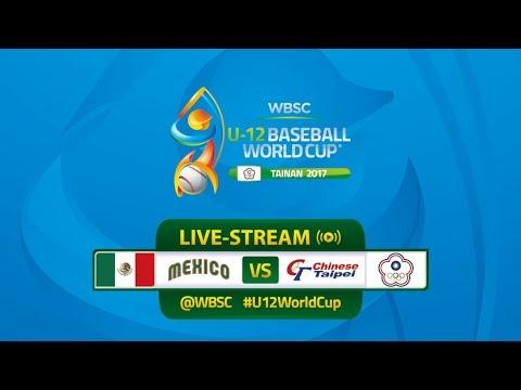 Mexico v Chinese Taipei - WBSC U-12 Baseball World Cup 2017