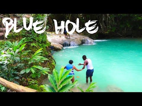 Trekking Bluehole | Jamaica Vlog #19