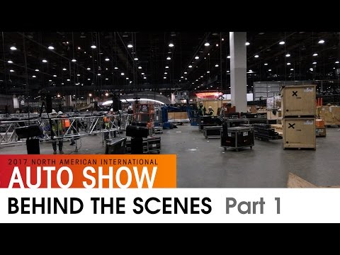 Behind the Scenes Pt. 1 // NAIAS 2017 - Detroit, MI (North American International Auto Show)