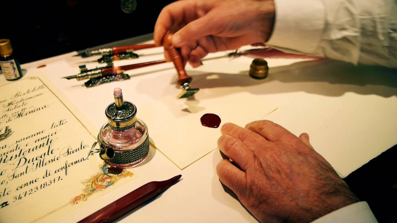 Come usare la ceralacca Bortoletti fonderia artistica Venezia