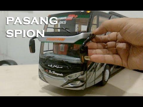 Tutorial Pemasangan Spion Miniatur Bus SHD Dengan Double Tip 3M