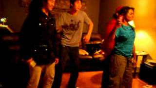 Playing the Michael Jackson Experience on Wii w. friends ! Thumbnail