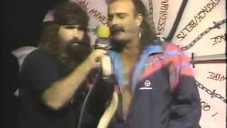 Cactus Jack interviews Jake Roberts (10-10-1992)