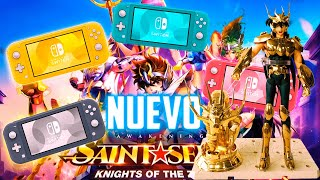 🤑¡CONSIGUE una NINTENDO SWITCH LITE GRATIS y FIGURAS EXCLUSIVAS...!🤑 Saint Seiya Awakening
