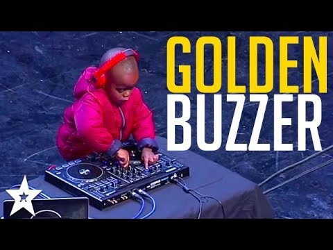 WORLD'S YOUNGEST DJ Gets GOLDEN BUZZER On SA's Got Talent
