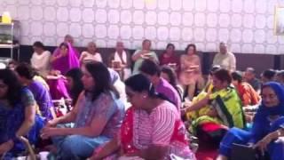 MAHA MRITYUNJAYA  MANTRA JAP in Canada by Shri Shard Bhai Ji