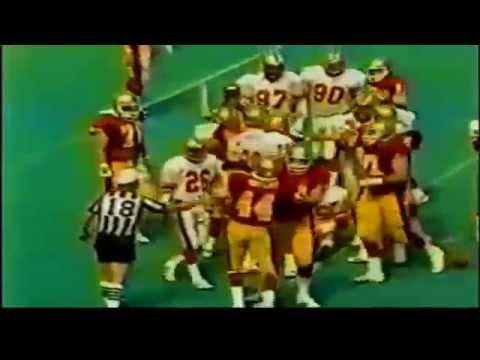 1985 - USFL Semi-Final Playoffs: Baltimore Stars vs Birmingham Stallions