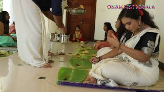Onam Fest Kerala | Sadya
