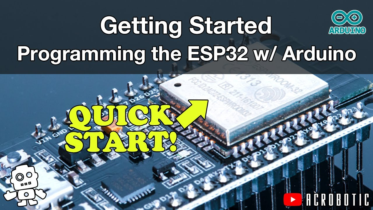 ESP32 Programming Using Arduino IDE (Mac OSX and Windows)